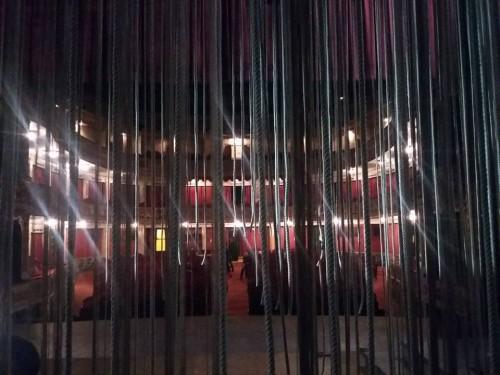 El teatro entre bastidores. Foto: Sebastián Haro.